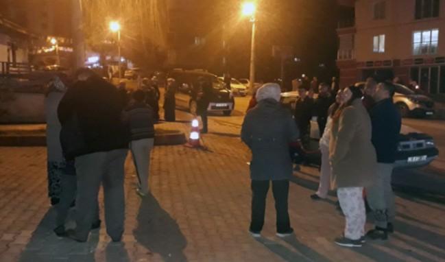 Çankırı'da 4,7 şiddetinde deprem...