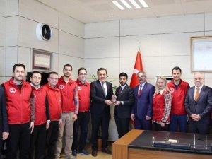 """Konya'ya """"Ayın Gençlik Merkezi"""" ödülü"""