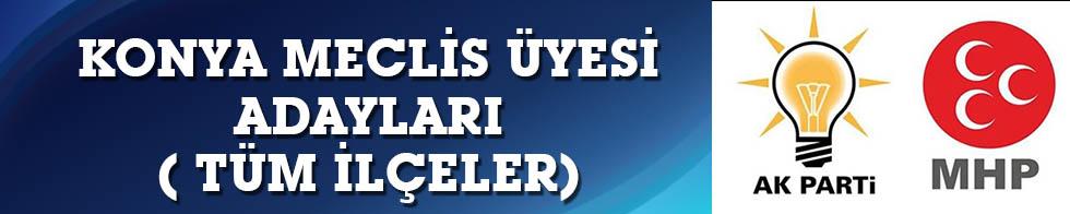 Cumhur İttifakı Konya meclis üyesi adayları (TÜM İLÇELER)