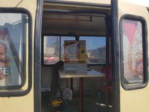 Minibüse kumar operasyonu