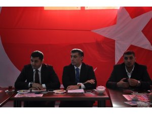 Cumhur İttifakı'nın başkan adayı Çetin Nazik, basınla buluştu