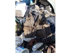 Şırnak'ta teröristlere ait mühimmat ve yaşam malzemesi bulundu