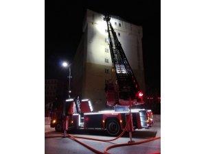 Malatya'da eski Halk Eğitim Merkezi'nde yangın