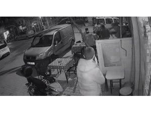 Ayvacık'taki deprem anı güvenlik kameralarında