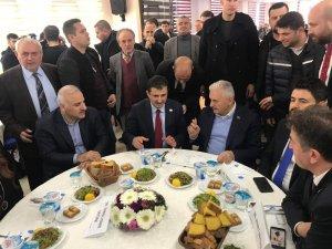 AK Parti İstanbul Büyükşehir Adayı Yıldırım'dan Zorluoğlu'na destek