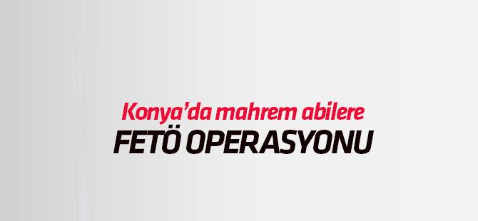 Konya'da Jandarmadan FETÖ/PDY operasyonu