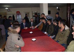 AK Parti Beytüşşebap Belediye Başkan adayı Aşan'dan esnaf ziyareti
