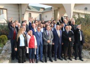 MHP Düzce Belediyesi meclis üyelerini tanıttı