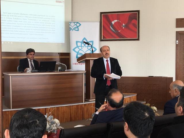 MEB'de Hami Projesi toplantısı