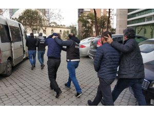 Samsun'da uyuşturucudan 3 kişi tutuklandı