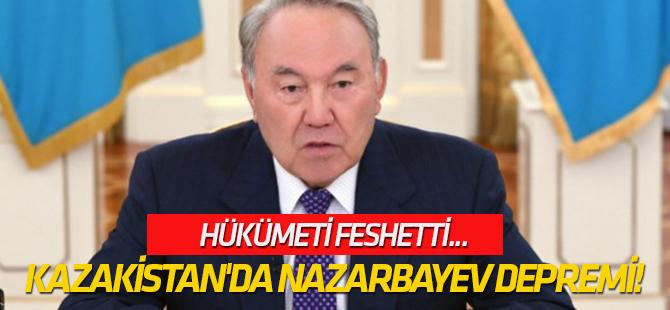 Kazakistan'da Nazarbayev depremi!