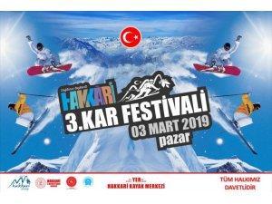 Hakkâri'de 3. Kar Festivali başlıyor