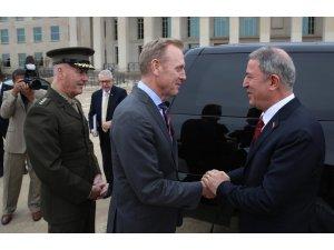 Milli Savunma Bakanı Akar: Shanahan'ın mektubu müttefiklik ruhuna uygun değil