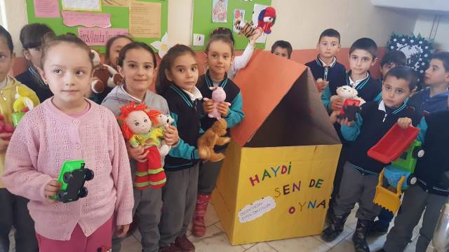 """Beyşehir'de """"haydi sen de oyna"""" projesi"""