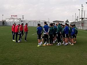 Anadolu Selçukspor'da Pendikspor maçı hazırlıkları