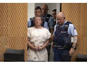Yeni Zelanda'da saldırganı Tarrant 5 Nisan'a kadar gözaltında