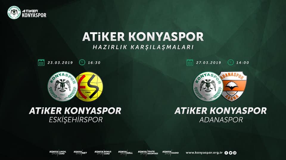 Konyaspor milli arada 2 özel maç yapacak