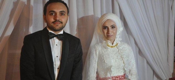Zeki Çimen oğlunu evlendirdi