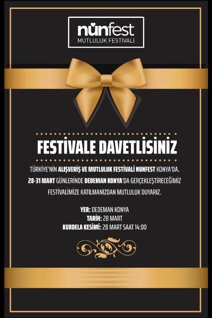 Nünfest Konya'da başlıyor