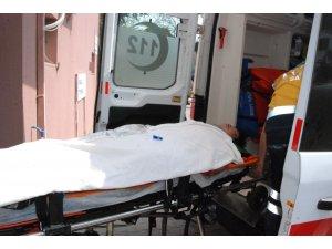 Asansör boşluğuna düşen Afganistan uyruklu yaralandı