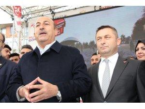 Bakan Çavuşoğlu Çerkezköy'den Korkuteli'ne hitap etti