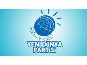 Yeni Dünya Partisi'nden Cumhur İttifakı'na destek