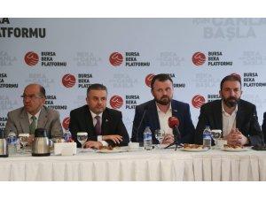 Bursa Beka Platformu'ndan Cumhur İttifakı'na destek