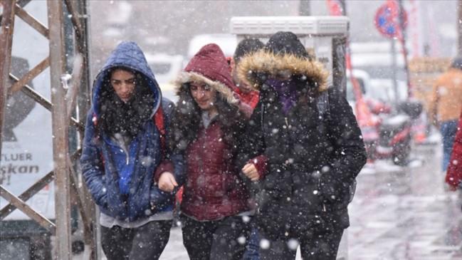 Meteoroloji duyurdu... 4 ilde kar yağışı bekleniyor!