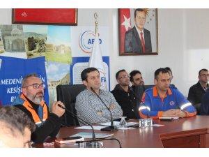 Suriye'de hizmet veren STK temsilcileri toplantı yapıldı