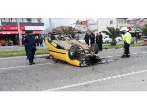 Uzman çavuş kazada ağır yaralandı