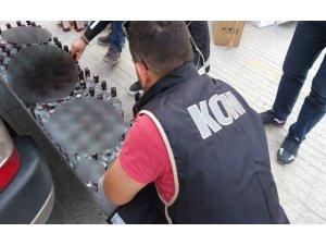 Polisten sahte alkol operasyonu