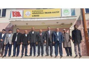 Milletvekili Şeker'in Karaman'daki ziyaretleri