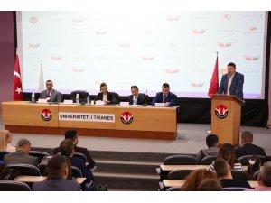 """""""Arnavutluk'ta Türkçenin Dünü, Bugünü ve Geleceği"""" kongresi"""
