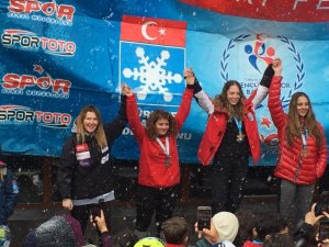 Snowboard Alpine Türkiye Şampiyonasında Kayseri Rüzgarı