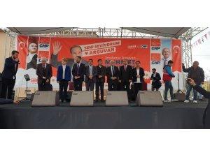 'Büyük Arguvan mitingi festival havasında gerçekleşti