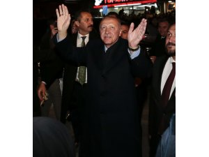 Erdoğan'dan Ülkü Ocaklarına ziyaret