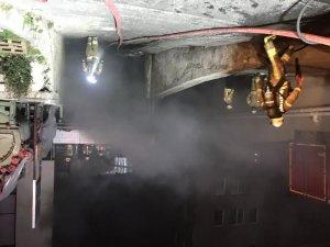 Beylikdüzü'nde plastik fabrikasında yangın