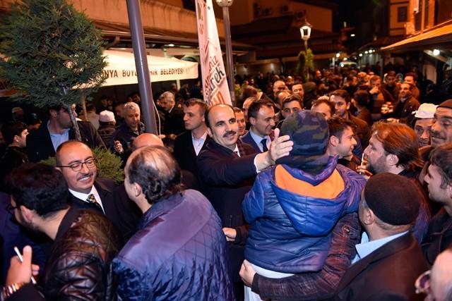 Başkan Altay, kandilde vatandaşlarla buluştu