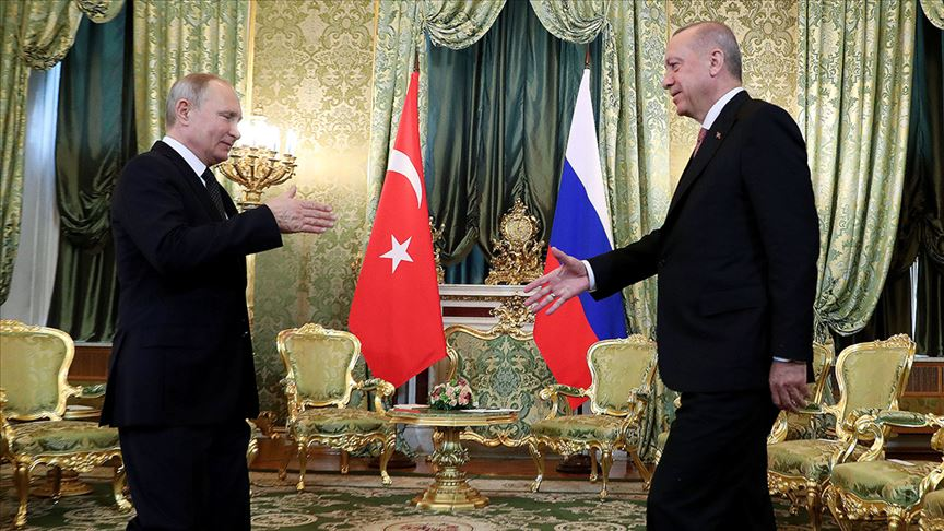 Erdoğan: Rusya ile Suriye'de atacağımız adımlar büyük önem arz ediyor