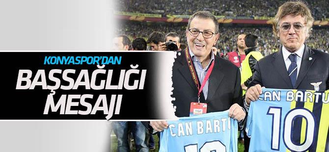 Konyaspor'dan Can Bartu için taziye emsajı