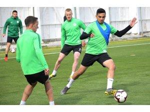 Atiker Konyaspor, Ankaragücü maçı hazırlıklarına devam etti