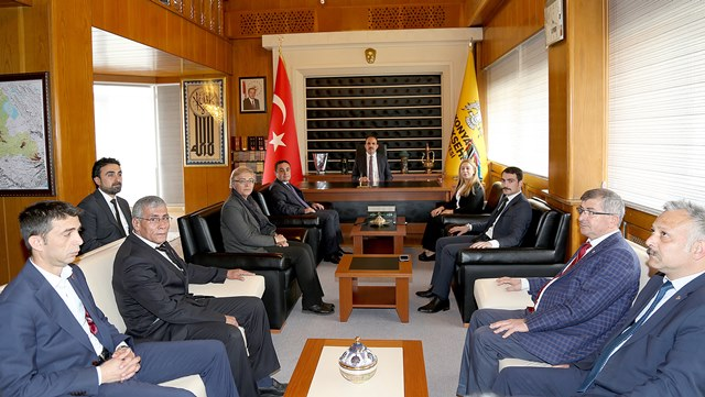 AK Parti ve MHP Teşkilatlarından Başkan Altay'a ziyaret