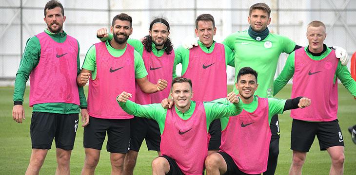 Konyaspor'da MKE Ankaragücü maçı hazırlıkları