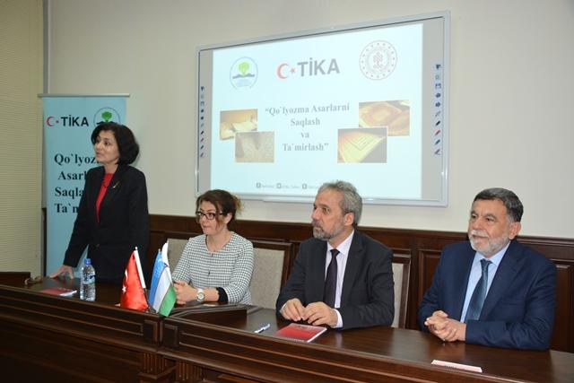 Türk uzmanlardan Özbek meslektaşlarına eğitim