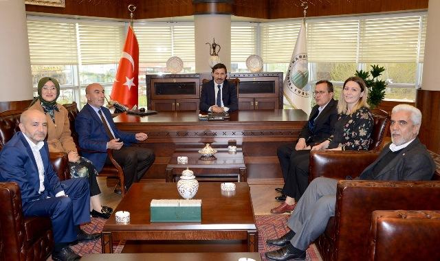 AK Parti'den Başkan Kılca'ya ziyaret