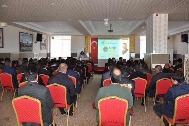 Beyşehir'de Sıfır Atık toplantısı yapıldı