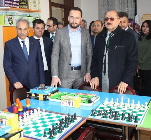 Akşehir'de, zeka oyunları sınıfı açıldı