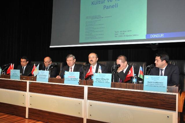 Türk-İslam Dünyası Kültür ve Turizm Paneli yapıldı