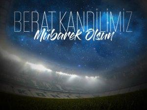 Konyaspor'dan kandil tebriki