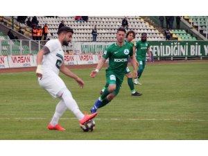 Spor Toto 1. Lig: Giresunspor: 0 - Abalı Denizlispor: 2 (İlk yarı sonucu)